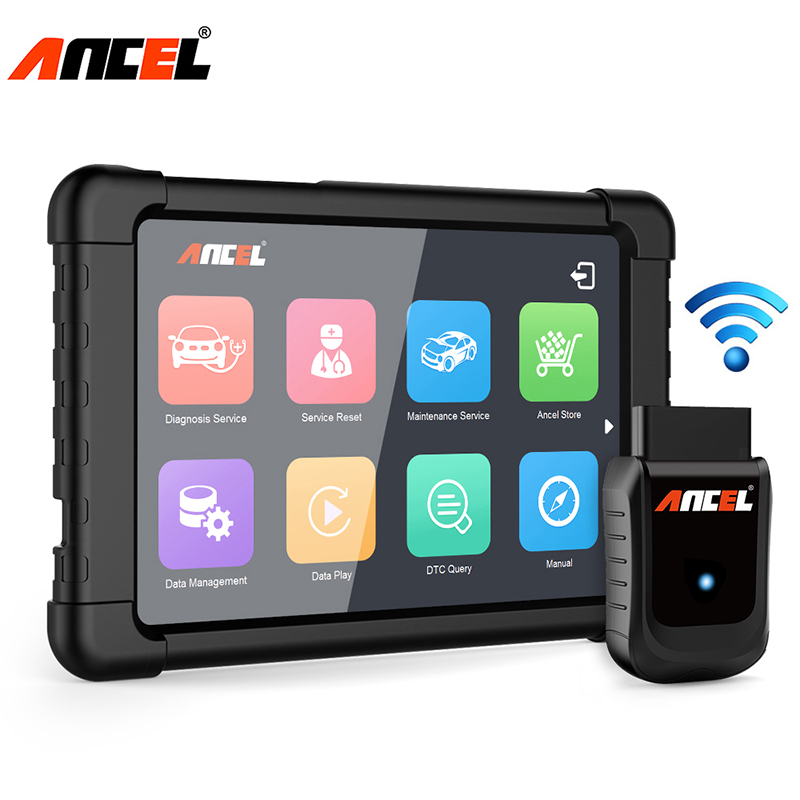 X5 Plus WiFi OBD2 Diagnostic Scanner ABS SRS EPB DPF Oil TPMS Scan Tool Tablet