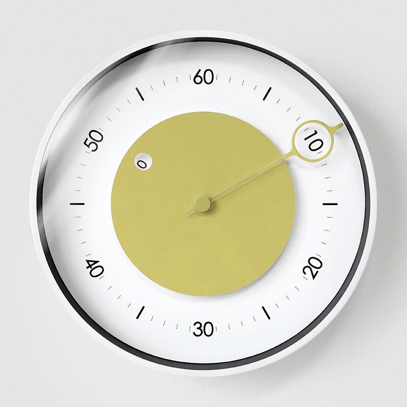 Horloge murale moderne Simple créatif élégant Math horloge nordique salon silencieux calme Zegar Scienny montre murale numérique AA60ZB