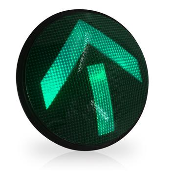 Średnica 300mm wysokiej mocy czerwony żółty Green Arrow sygnalizacja świetlna LED moduły tanie i dobre opinie CN (pochodzenie) FX300-3-HFR Y G Fresnel Lens incandescent look Red Yellow Green Each color for 4PCS 400cd Red 625±5nm Yellow 590±5nm Green 505±5nm