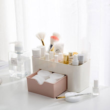 Creative desktop plastic storage box drawer office rack home cosmetics finishing organizer
