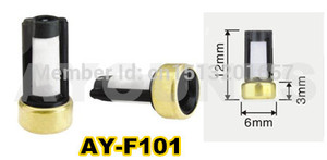 Image 5 - 500pieces fuel injector filter ASNU03C 11001 size 12*6*3mm auto spare parts microfilter fit for bosch injector repair(AY F101)