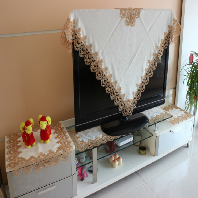 European Lace White Tablecloth Home Hotel Party Table Cloth Decoration Rectangular Simple Elegant Table Cover СкатертьдляСтола in Tablecloths from Home Garden