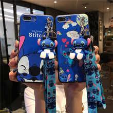 Cartoon Blue Stitch Soft Case For Vivo Y85 Y55 Y66 Y67 Y71 Y75 Y79 Y83 Y91 Y95 Y93 Y97 X7 X9 X20 V11i X27 V15 V11 Pro Cover glitter rhinestone bracelet case for vivo v7 y75 y97 y93 y93s y91 y95 y79 y75s y69 y67 y66 v9 y85 v11 v15 v7 plus pro covers