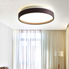Modern minimalist round bedroom ceiling lamp Nordic style simple LED ceiling lamp hotel bedroom  RC dimmable  ceiling light promo