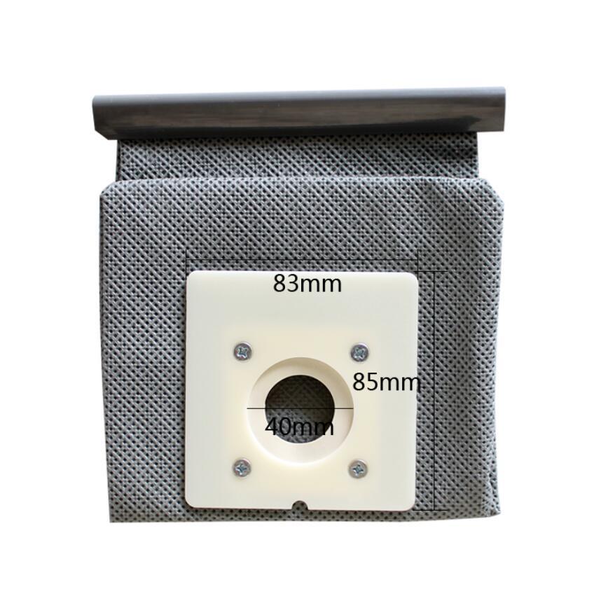 Staubsauger Teile Waschbar Non Gewebt Karte Typ Staub Tasche 83*85mm