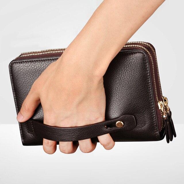 Мужской деловой портфельчик из мягкой искусственной кожи 3