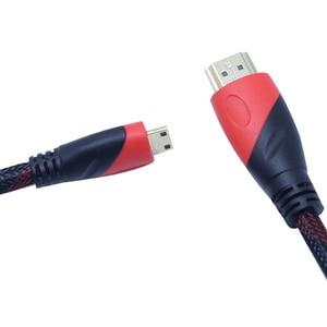 Image 2 - 1080P 3D Tác Dụng Chuyển Mini HDMI Sang HDMI Tốc Độ Cao Adapter Với Đầu Cắm Mạ Vàng Cho Máy Ảnh Màn Hình Máy Chiếu máy Tính Xách Tay