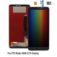 For ZTE Blade A606 LCD Display Touch Screen Digitizer Assembly For ZTE Blade A606 Screen LCD Display Replacement Free Tools new 5 inch full lcd display touch screen digitizer assembly replacement for zte blade x5 blade d3 t630 free shipping