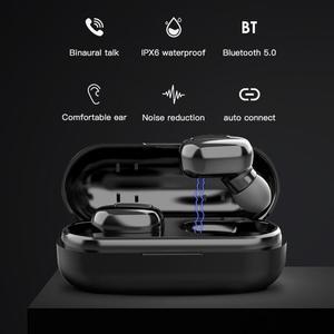 L13 наушники вкладыши TWS с Беспроводной Bluetooth наушники 9D стерео Hi Fi гарнитура IPX6 Шум шумоподавления снижение Цвет Дисплей наушники для телефона|Наушники и гарнитуры|   | АлиЭкспресс