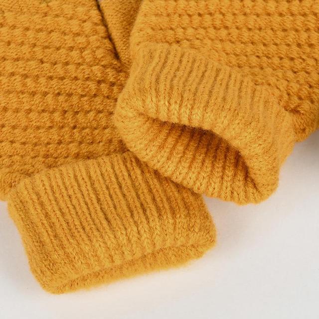 Bright Orange Gloves for Men and Women 5