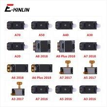 Динамик приемника переднюю верхнюю слуховой динамик запчастей для Samsung Galaxy A70 A50 A40 A30 A20 A8 A7 A6 A5 A3 2018 2017 2016