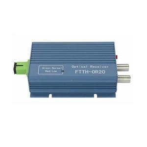 Image 3 - CATV מקלט FTTH AGC מיקרו SC APC סימפלקס מחבר עם 2 יציאת פלט עבור PON FTTH OR20 CATV סיבים אופטי מקלט