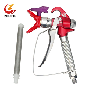 3600PSI Airless Paint Spray Gun For Wagner Titan Sprayers With 517 Tip Nozzle Tools 3600psi high pressure airless paint spray gun with nozzl nozzle guard pump sprayer and airless spraying machine for wagner titan