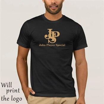 Новая классическая футболка с изображением автомобиля John Player