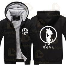 Японское пальто с аниме толстовка уличные куртки зимняя теплая