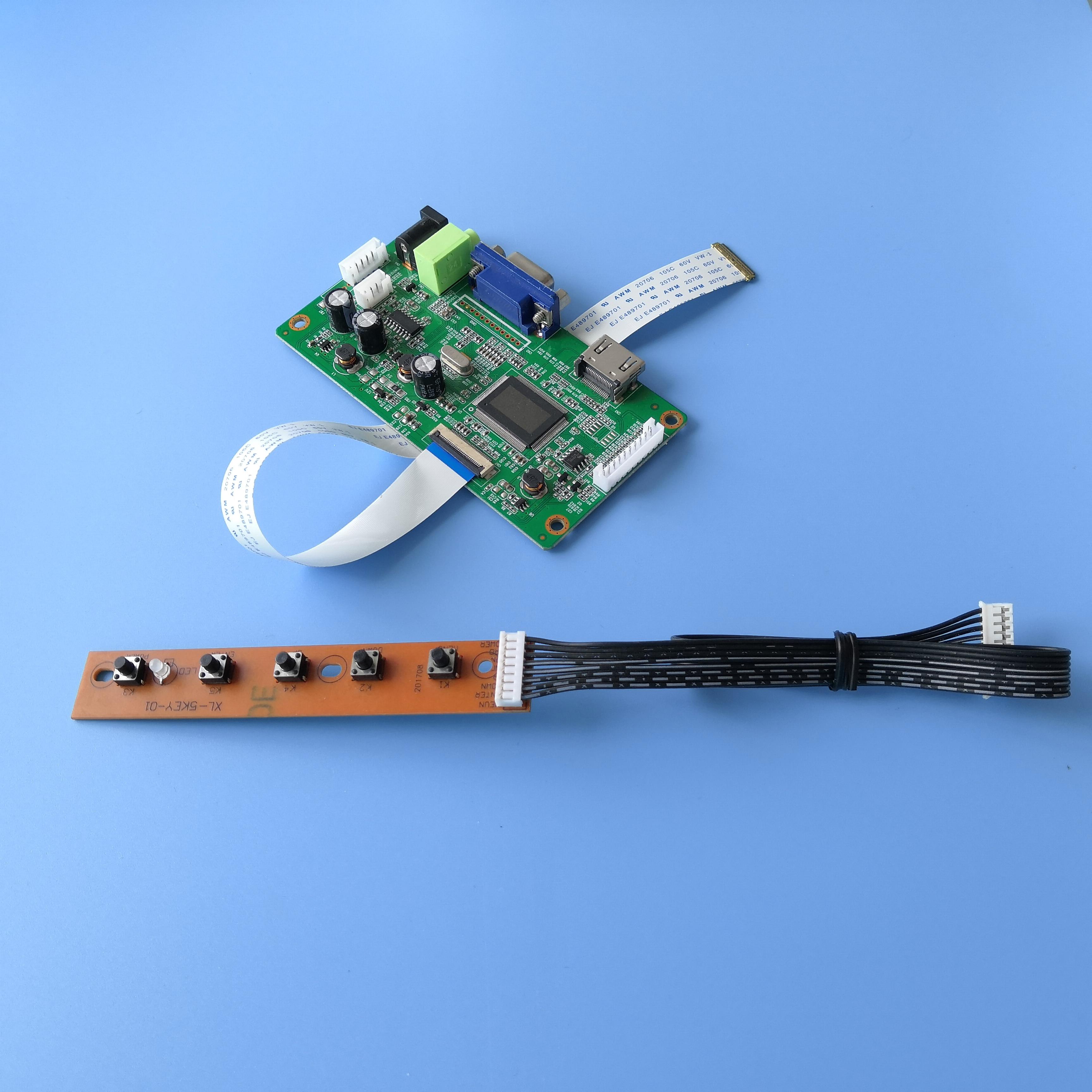 Para el KIT de NV156FHM-T10 VGA DIY LCD EDP 40Pin 1920X1080 monitor controlador pantalla tablero controlador 15,6