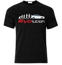 Camiseta evolução para wrc evo vi vii ix x fã t camisa presente de natal