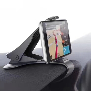 Universal Car Phone Holder Adjustable Dashboard Mount Clip Mobile Smart Phone GPS Stand Bracket For iphone 6 6s 7 8 Plus image