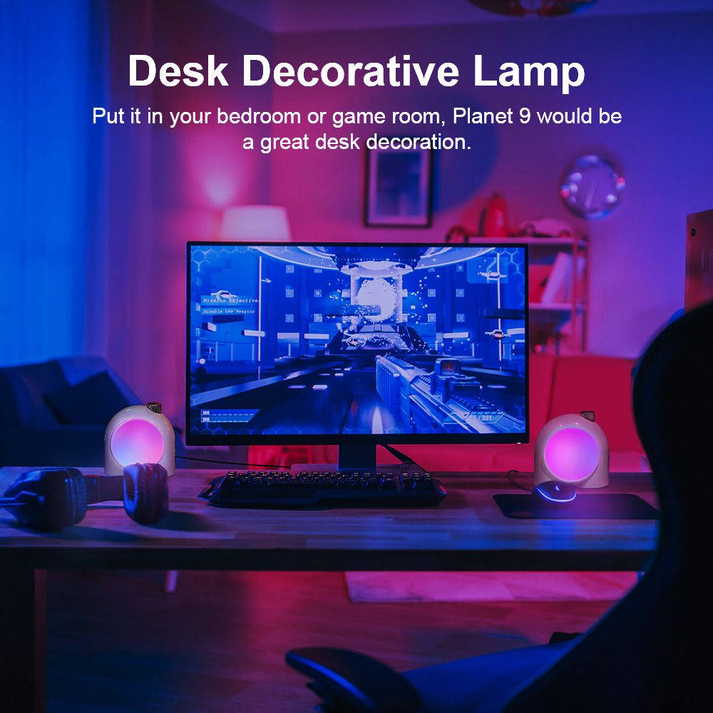 Divoom Planet-9 Programmable RGB LED Lamp 5