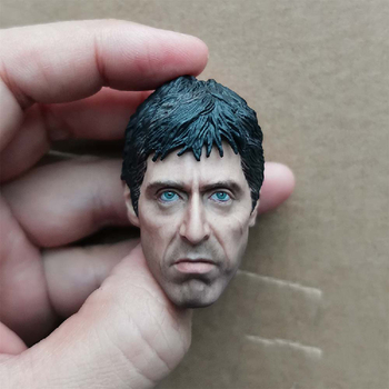 1/6 Al Pacino Head Models Sculpt for 12''Figures Bodies Toys Gifts Collections DIY 1 6 4d germany mp7 submachine gun model diy assemble models for 12 inches action figures collections