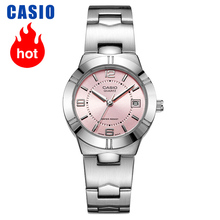 Casio reloj para mujer, cronógrafo de cuarzo, elegante, LTP 1241D 4A