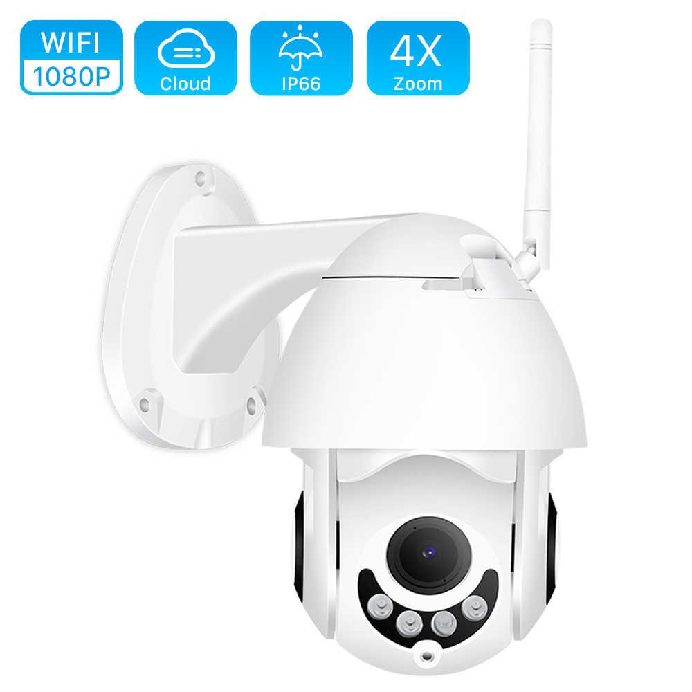 1080P Super Mini PTZ 5X Zoom Speed Dome WIFI IP Camera 1080P Outdoor 5X Zoom 2.8-12mm Lens Draadloze Camera IR 40m Twee Weg Audio