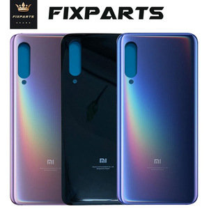 New for Xiaomi mi 9 Back Battery Cover Rear Door Housing Case Glass Panel Mi9 SE Replacement Parts For xiaomi mi 9 Battery Cover