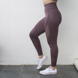 Image 4 - Nepoagymผู้หญิงEnergy Seamless TummyควบคุมกางเกงโยคะSuperยืดGym Tightsสูงเอวกีฬากางเกงขายาววิ่งกางเกง