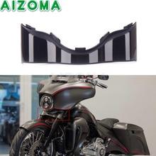 Motorbike Black Outer Batwing Lower Trim Skirt Fairing For Harley Electra Street Glide Ultra Limited Touring FLHX FHLT FLH 14-20