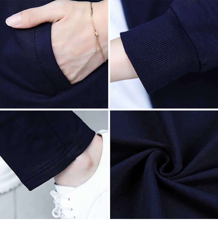 Модный спортивный костюм женский новый осенний топ с принтом и штаны Популярные женские спортивные толстовки для отдыха комплект из 3 предметов женский костюм