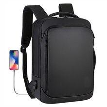 15.6 calowy plecak na laptopa męski biznesowy Notebook Mochila wodoodporny plecak USB do ładowania plecak podróżny 2020 męski plecak