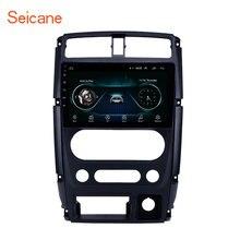 Seicane Auto Multimedia player 2din 9 zoll Android 9,1 auto GPS Radio für 2007 2008 2009 2012 Suzuki Jimny unterstützung Carplay DVR SWC