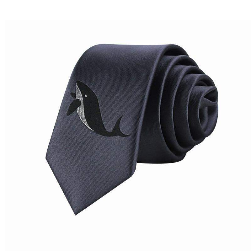 High Quality 2020 Ties for Men Designers Brand Fashion Slim Tie 6CM Necktie Gravata Men Work Business Casual Silk Ties Dark Gray