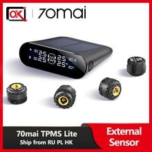 Original 70mai External Sensor Tire Pressure Monitor System LCD Display Car Tire Tire
