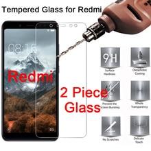 2pcs Hard Tempered Glass for Xiaomi Redmi K20 pro S2 Pro Go Phone Front Film for Redmi 8 8A 7A 6A 5A 4A 4X Protective Glass