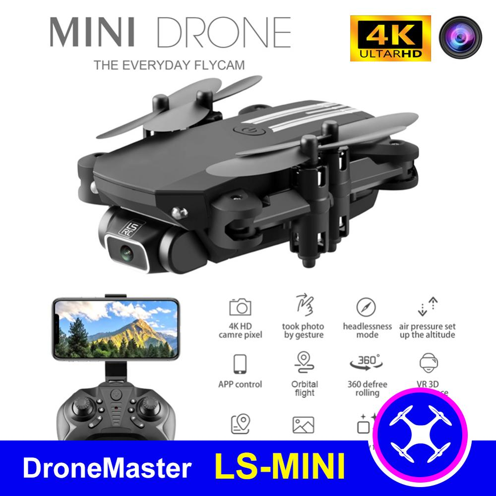DroneMaster cost effective Mini RC Drone with 4K Camera WiFi FPV UAV Photography Portable Foldable Quadrotor drone kids Toy
