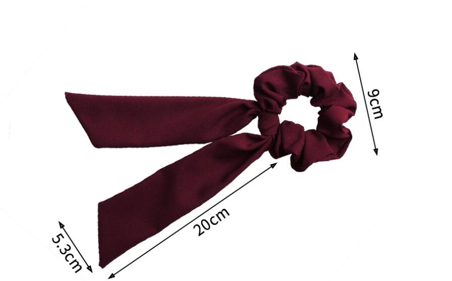 Ha2954dfde69f4f7eb1ca6d75592d88f1e - Fashion Silk Satin Summer Ponytail Scarf Stripe Flower Print Ribbon Hairbands Hair Scrunchies Vintage Girls Hair Accessoires