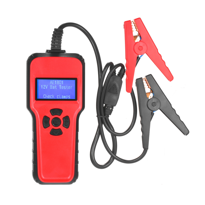 Car Electric Load Charging System Detect AE1801 Car Battery Tester Digital Battery Analyzer Battery Capacity Tester