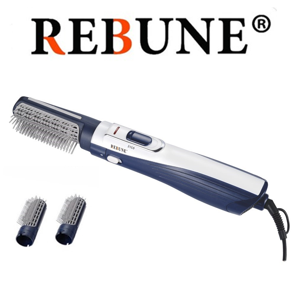 REBUNE 2025-2 Hair Styler Tools 220V HAIR STYLER Fashion Hair Straightener & Hair Curler Comb Brush