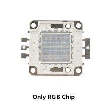 Светодиодный RGB-чип COB, Шариковая лампа с RGB-подсветкой, трансформатор, приводной блок питания, высокая мощность яркости, безопасность 10 Вт 20 ...