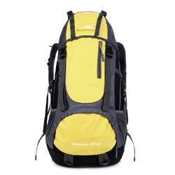 Outdoor Backpack 60L Waterproof Mountaineering Backpack Camping Hiking Backpack Bicycle Sports Bag