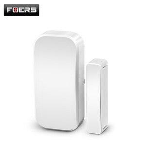 Image 3 - Fuers Wireless Home Door Window Burglar Safety Magnetic Sensor 433MHz Door Detector for KERUI Home office Security ALARM System