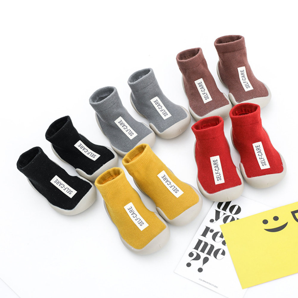 Fashion Baby Garter Rubber Bottom Children Socks Autumn And Winter Children Socks Non-slip Shoes Soft Bottom Socks Floor Socks