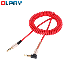 3.5mm Speaker Line Car Audio Cable Stretchable Male to Male AUX Cable Headphone Beats Speaker For MP3 MP4 iPhone