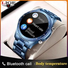 2021 New Smart Watch Men Bluetooth Call Full Touch Screen Waterproof Smartwatch Suitable For Android IOS Sports Fitness Tracker
