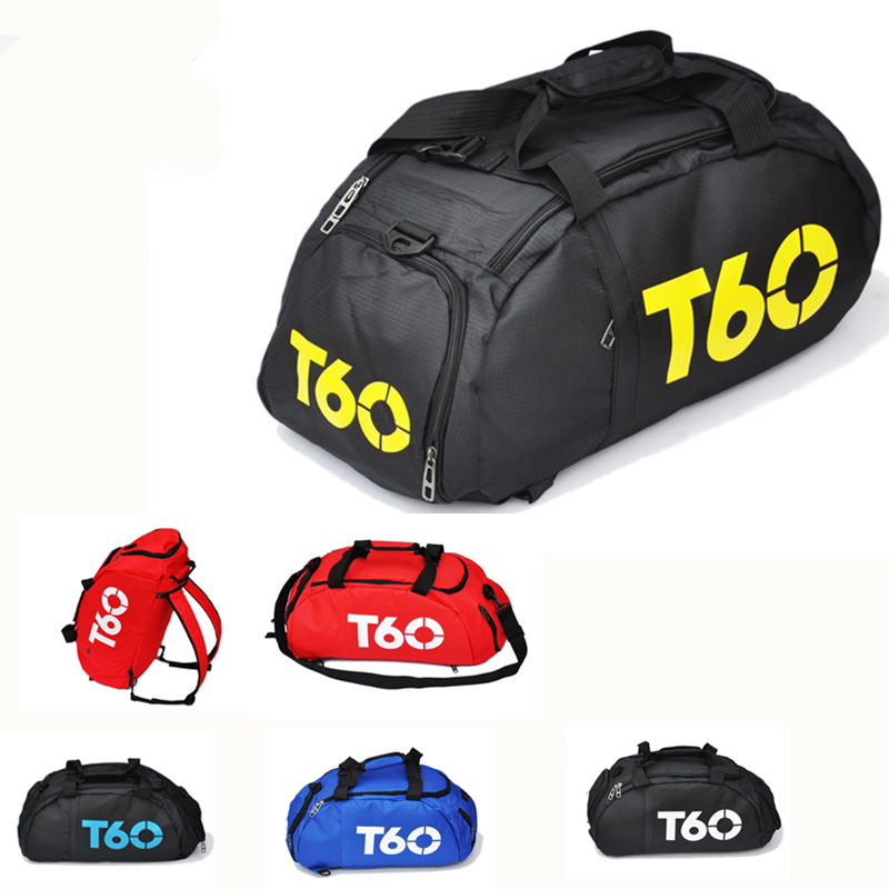 Brand New Men Sport Gym Bag Women Fitness Waterproof Outdoor Separate Space For Shoes Pouch Rucksack Hide Backpack Sac De T90