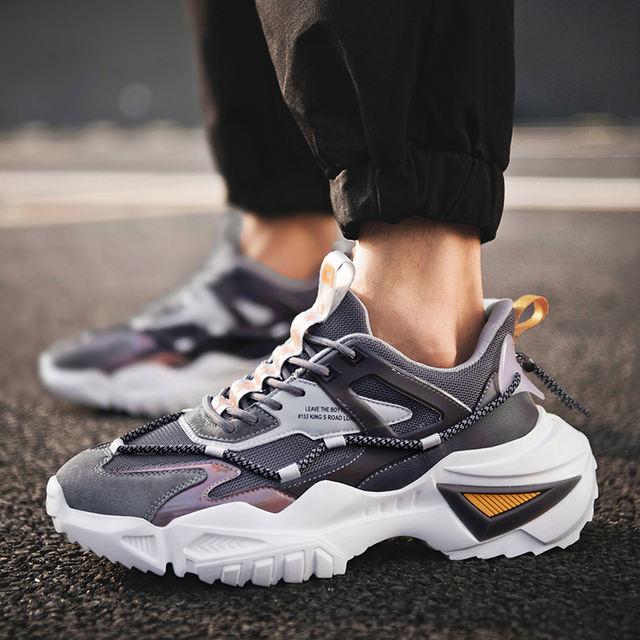 Men's Fashion Platform Sports Shoes