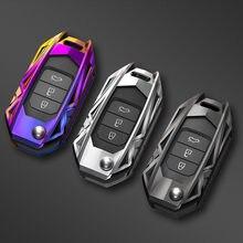 Car Key Fob Pocket Cover Case For Honda Civic CR-V HR-V Accord Jade Crider Odyssey 2015- 2018 Remote Protector Car Accessories