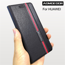 huawei p8 p9 p10 p20 p30 lite mini 2017 Case Leather flip co