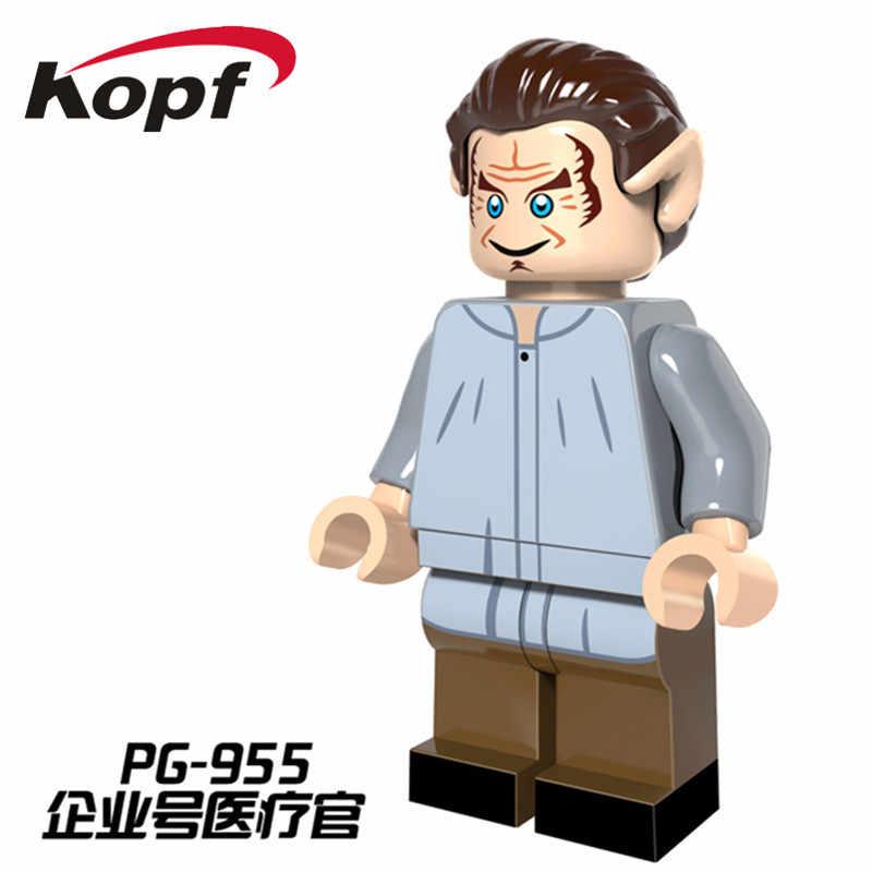 כוכב מלחמת Uhura סקוטי Eoward Tayburn העסק חללית מפקד הגאי דמויות אבני בניין ילדי ילדי צעצועי PG8054